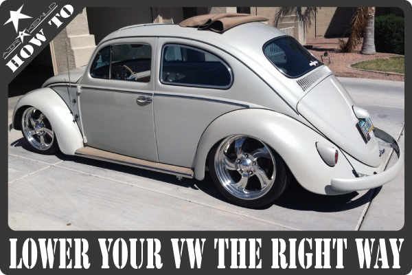 Knowledge is king when customizes Vintage Volkswagens