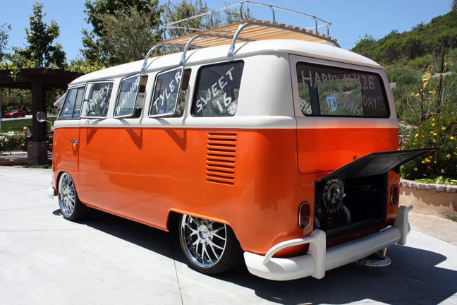 Classic VW Bus Complete Air Ride Kit - 1003