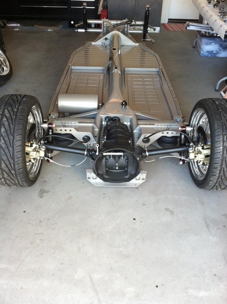 swing axle air ride bracket kit