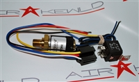 Adjustable Pressure Switch with Relay - 1512