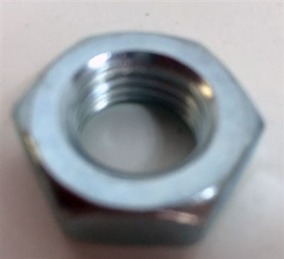 3/4 Fine Right Hand Jam Plated Nut