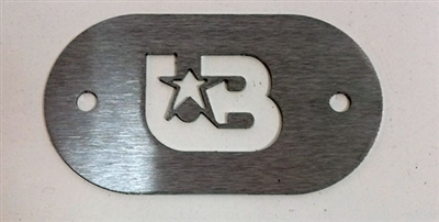Brushed Stainless UB Inspection Plate