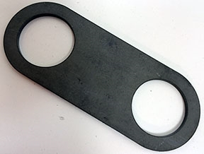 Link Pin Shockless Plate