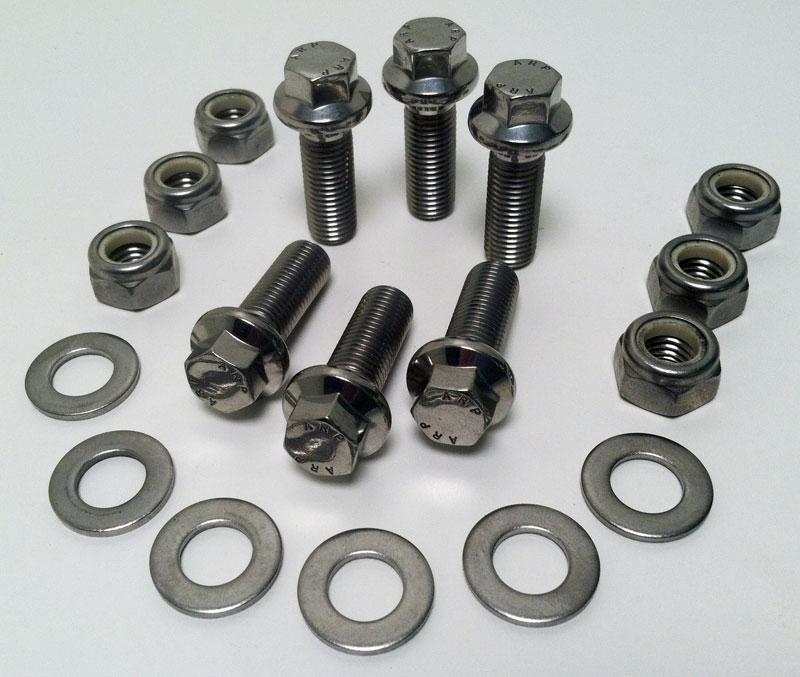Stainless Steel Swing Axle Fastener Kit - 2905