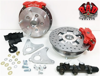 Classic VW Complete Front/Rear Disc Brake Conversion Kit - 4000