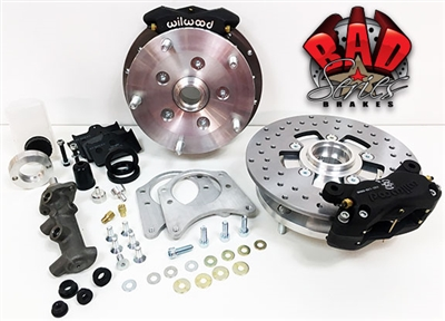 Classic VW Bus Complete Front/Rear Disc Brake Kit - 4110