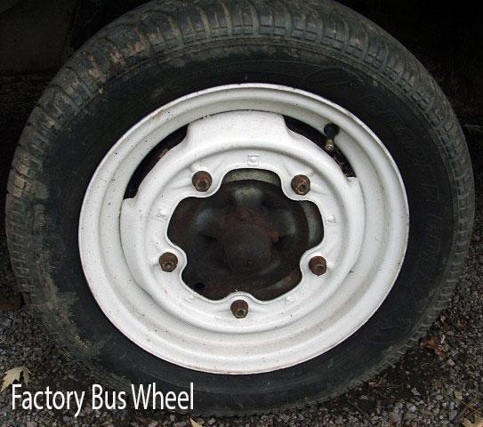 Classic VW Bus Front Disc Brake Conversion Kit - 4305