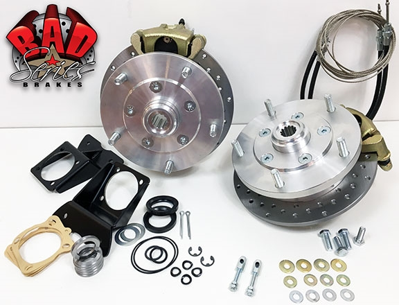 Classic Vw Bus Rear Disc Brake Conversion Kit 4745