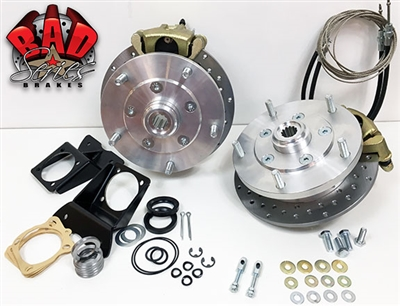 Classic VW Type 3 Rear Disc Brake Conversion Kit - 4750