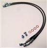 Stainless Steel Rear Brake Hoses Disc Application - 4890