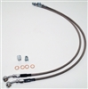 Stainless Steel Rear Brake Hoses Disc Application - 4891