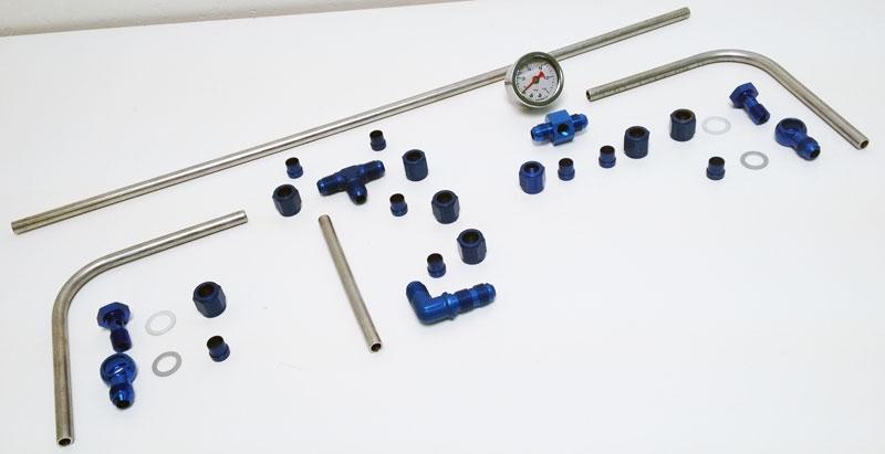 Air Cooled Vw Brake Lines : Dellorto mm hardline fuel line kit