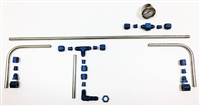Dellorto 7mm Hardline Fuel Line Kit - 8081